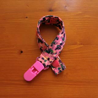 Pink Fun - Clip Pacifier Chain / Toy Belt