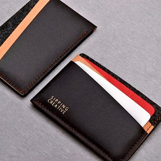 Credit Card Holder_Black Mix