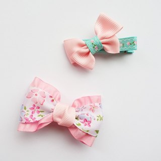 Light spring soft pink flowers baby multi-purpose clip (s)