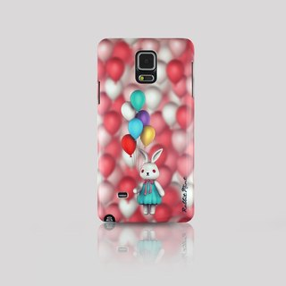 (Rabbit Mint) Mint Rabbit Phone Case - Bu Mali balloons Series Merry Boo - Samsung Note 4 (M0009)