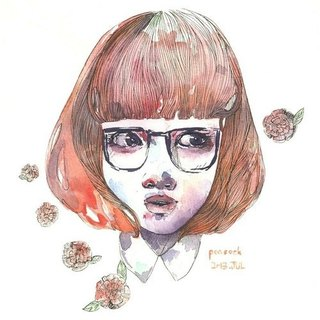 Watercolor Portraits / 水彩人像/雙人