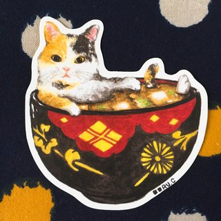 Miso Cats Stickers ★ XL size