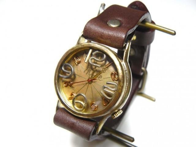 "手工手錶HandCraftWatch"" On Time-B""烤製/ BR Mens 214B"