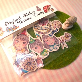 Original illustration- sticker 22pcs