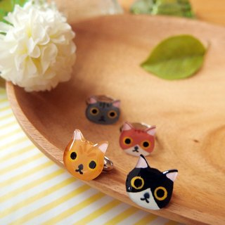Meow lovely cat ring