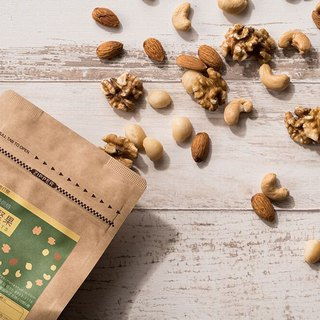Light-roasted composite nuts - kraft paper bag (Simple studio)