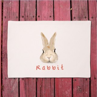 Meng rabbit │ canvas decorating your table placemat