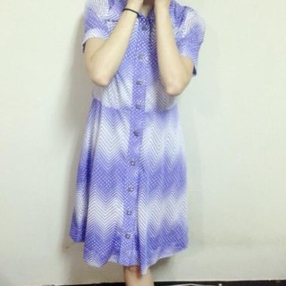 ~ Re: i fashion studio ~ gradient Zibai romantic vintage white dress with