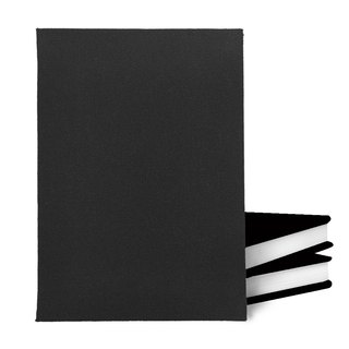 Pure. Unstamped notebook [black]