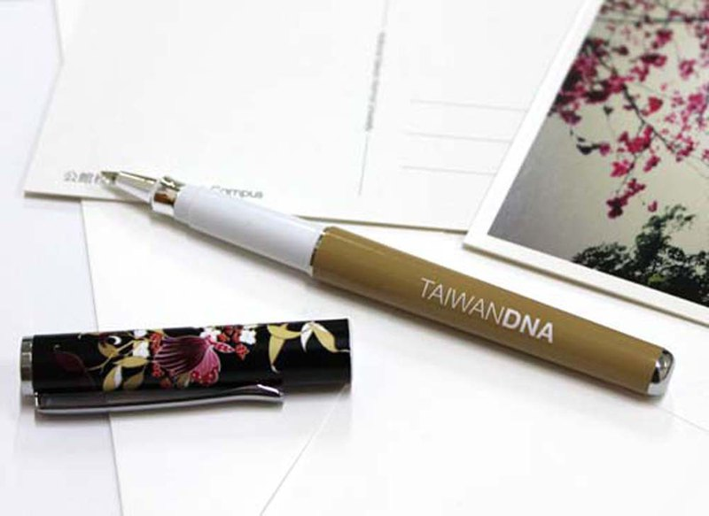 Taiwan DNA Steel Ball Pen - 曙 蝶
