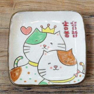 【Dimble dishes】 cat little prince ─ home has anecdote