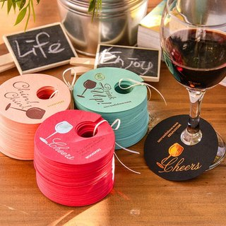 Party dinner taste life - seed paper cups decorated card