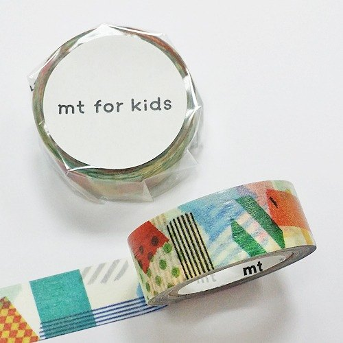 mt and paper tape KIDS 【Paper tape collage (MT01KID020)】
