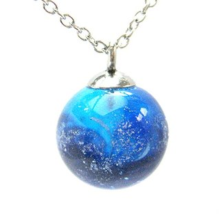 Planet Earth Series - (vitality) glass beads necklace