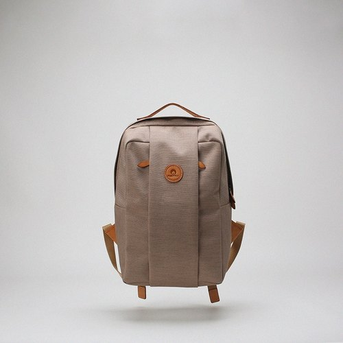 FOSTYLE Bodhi said water repellent hermit backpack travel backpack casual computer bag cloth bag khaki