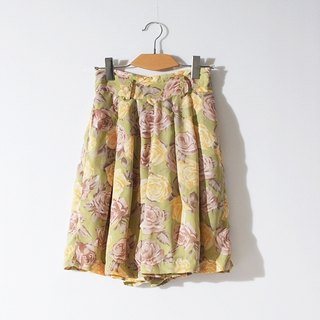 / Ringo Dream / fresh color photo to send roses vintage vintage skirts