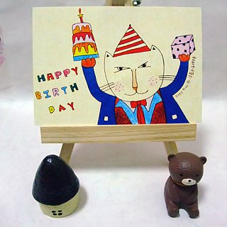 [Postcards] birthday series micro plus happiness