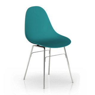 TOOU Side Chair (Ocean Blue)