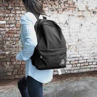 purely. Outing - After rucksack - plain backpack [black]