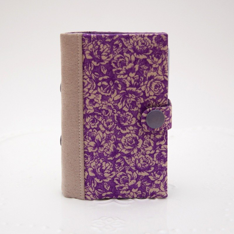 A Book Card Cover - Portuguese Purple Rose