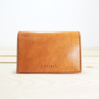 LION's Handmade Leather -- Card Holder
