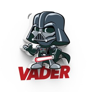 3D Light FX - Star Wars EP7 Mini Series Vader - 3D立體迷你燈 星際大戰EP7系列 黑武士