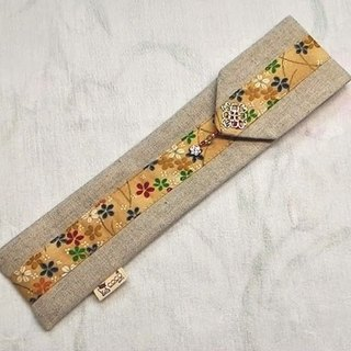 Tableware sets carry pouch chopsticks sets ~ unique design hand-stitched F02-017