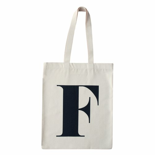 Alphabet Bags Tote letter [F] (the UK / free shipping)