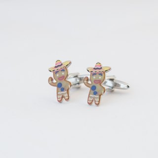 Christmas Gingerbread Cufflinks GINGERBREAD CUFFLINKS
