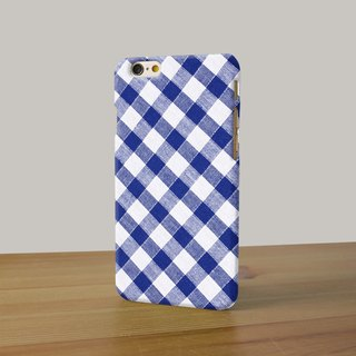 Classic pattern blue argyle pattern 3D Full Wrap Phone Case, available for  iPhone 7, iPhone 7 Plus, iPhone 6s, iPhone 6s Plus, iPhone 5/5s, iPhone 5c, iPhone 4/4s, Samsung Galaxy S7, S7 Edge, S6 Edge Plus, S6, S6 Edge, S5 S4 S3  Samsung Galaxy Note 5, Not