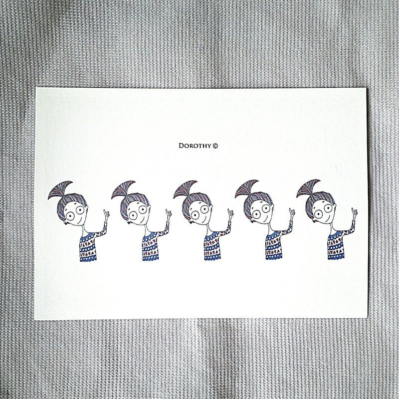 Postcards multitude -B010