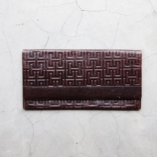 A ROOM MODEL - VINTAGE, HICKO long clip wallet