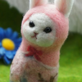 Wool Feather Sakura Rabbit Russian Doll Custom