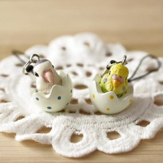 Pet Doll 1-3cm ( bird egg ) pure doll mobile phone strap dust plug