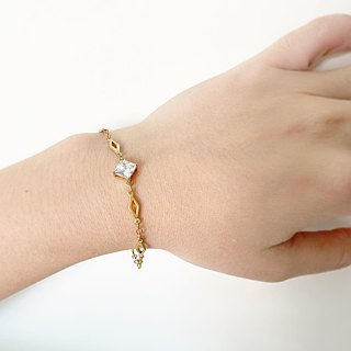 Princess cut - Bracelet