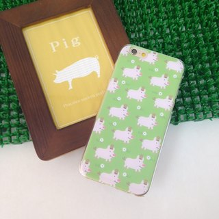 Cute Pig Pattern Print Soft / Hard Case for iPhone X,  iPhone 8,  iPhone 8 Plus,  iPhone 7,  iPhone 7 Plus iPhone 6/6s,  iPhone 6/6s Plus,  iPhone 5/5S, iPhone 4/4S, Samsung Galaxy Note 4 Note 3, S5, S4, S3