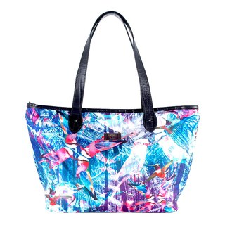 COPLAY tote bag III-blue bird forest