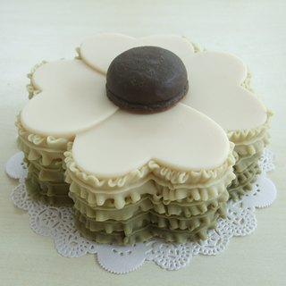 Love Clover Cake Soap