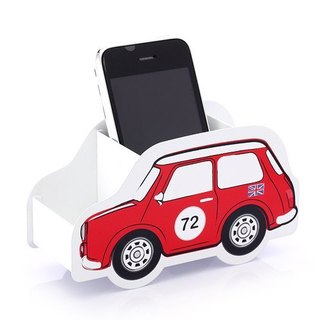Cool Pencil Holder - Car Modeling Series Red Mini Austen Stationery Storage
