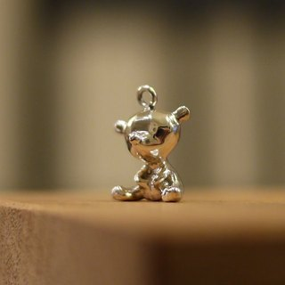 [Jewelry] Jin Xialin ‧ gem Bears - Silver