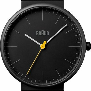BRAUN BN0171 classic quartz watch (black)