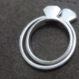 "▓░ silver / Ying / ring / Chieh / ▓░ ""Diamond"" limited edition handmade 925 sterling silver rings"