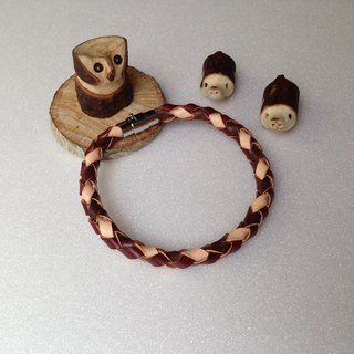 HNLeather season series with the season to go out! Autumn articles woven bracelet Cikou Edition