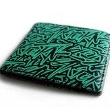 Arturn / Classic tag Wallet 塗鴉真皮雙層皮夾
