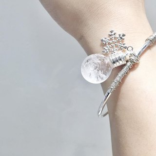 Fill in the blank Storm glass bangle (No.8 spherical or No.11 Flat round bottle)