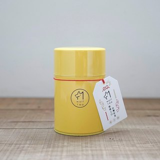 【Wolf Tea】Yellow Wolf Tea Canister - Organic Oriental Beauty Oolong Tea