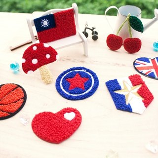 DIY ironing three-dimensional embroidery stickers / stickers