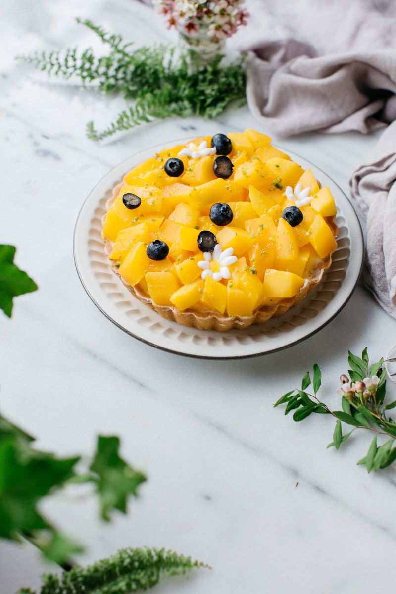 Early summer mango sharing pie 8