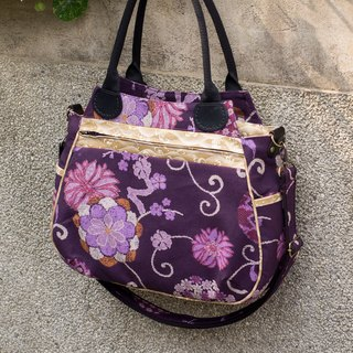 Love the Earth dorsal hand-made bag * handbag | choose your favorite fabric