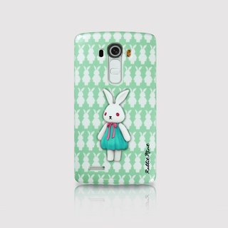 (Rabbit Mint) Mint Rabbit Phone Case - Bu Mali Merry Boo - LG G4 (M0015)